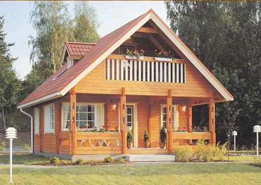finishing rumah berbahan kayu